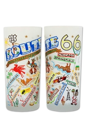 Catstudio Cat Studio Route 66 Glass - Front cropped