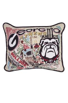 Shoptiques Product: Georgia Embroidered Pillow