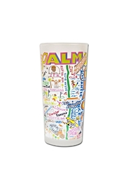 Catstudio Palm Beach Tumbler - Front cropped