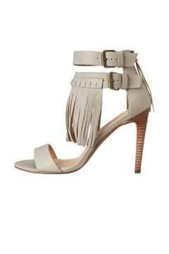 Shoptiques Product: Ironic Leather Fringe Heel