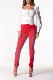 Cattiva Girl Red Pants - Product Mini Image