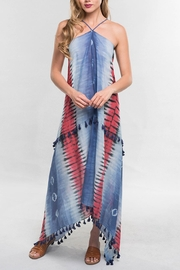 Cattiva Girl Tie-Dye Halter Dress - Product Mini Image
