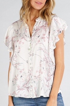 Cattiva Girl Vintage Floral Top - Product List Image