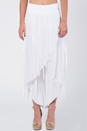 Catwalk Crop Silk Pant - Front cropped