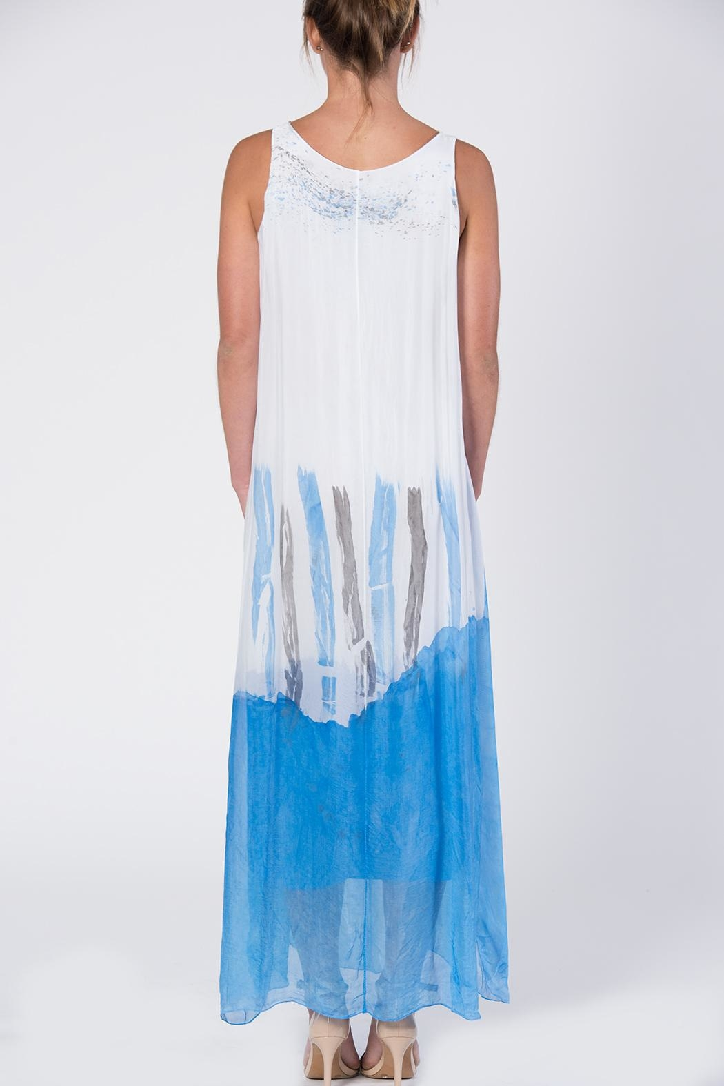 Catwalk Dip-Dye Maxi Dress - Side Cropped Image