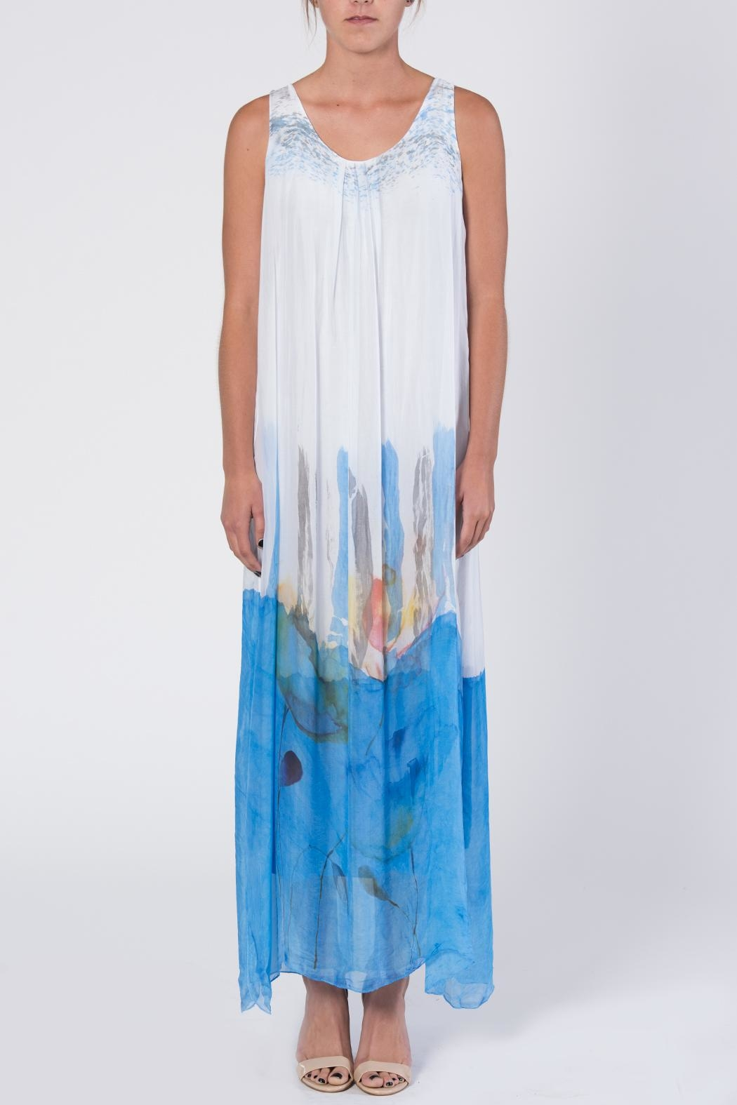 Catwalk Dip-Dye Maxi Dress - Main Image