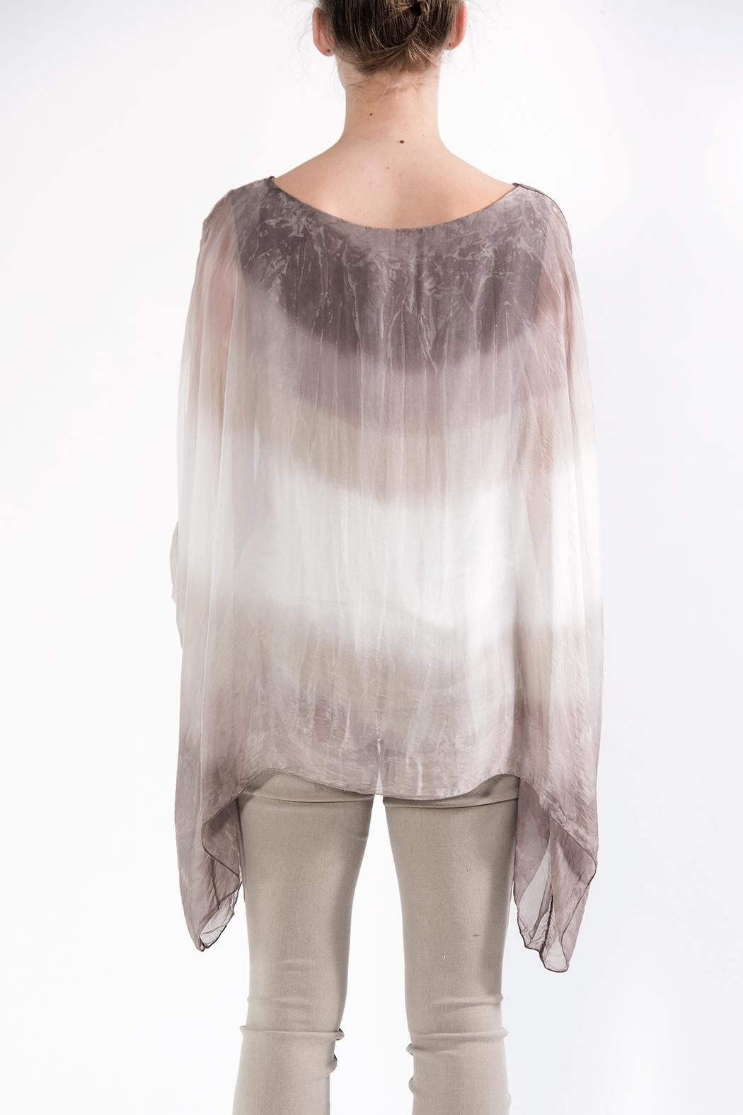 Catwalk Dip Dyed Blouse - Front Full Image
