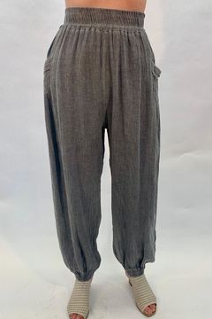 Catwalk Gray Gauze Bottoms - Product List Image