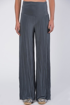 Shoptiques Product: Grey Pleated Pants