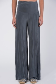 Catwalk Grey Pleated Pants - Product Mini Image