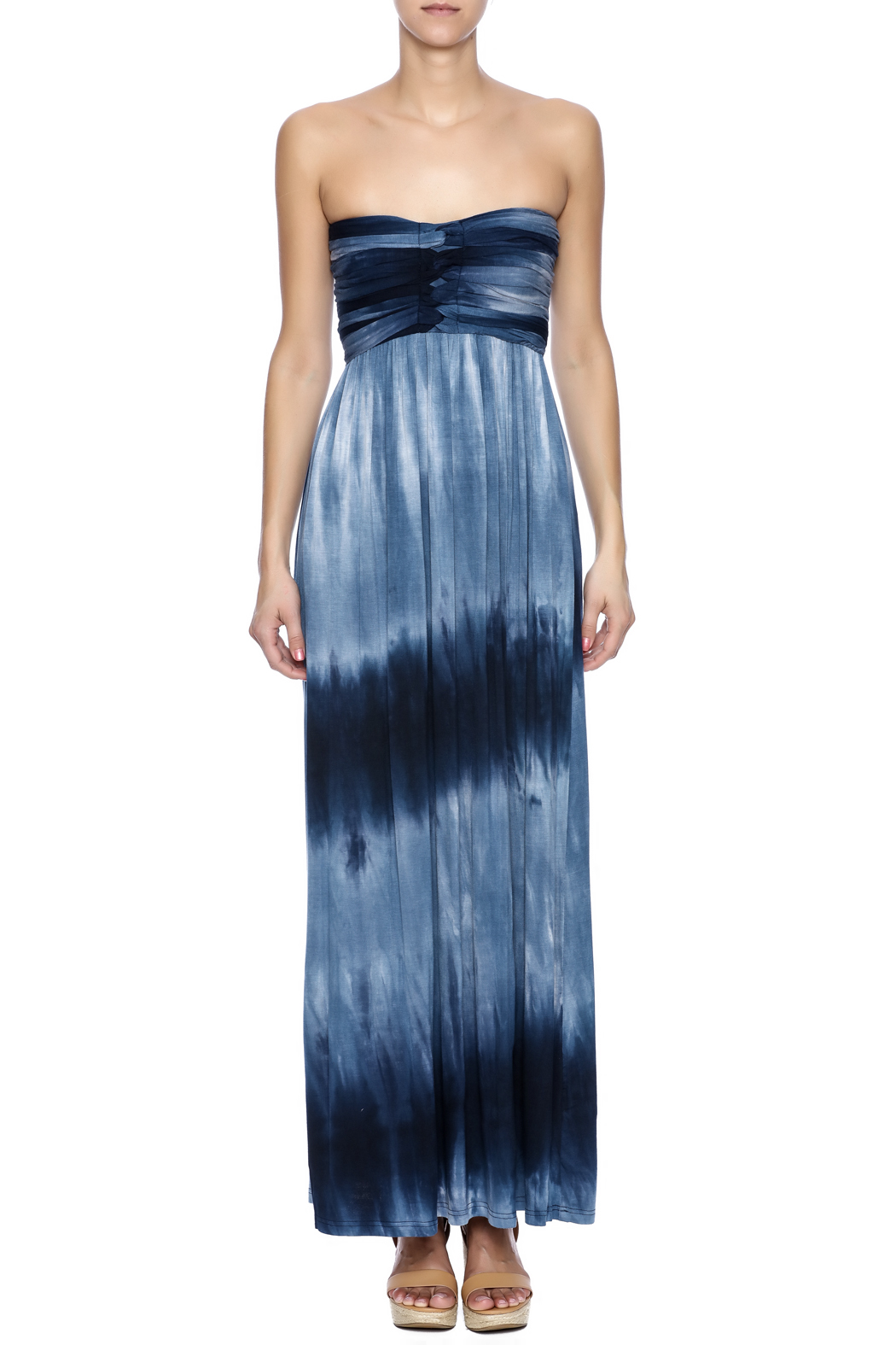 Catwalk Studio Tie Dye Maxi - Front Cropped Image