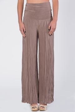 Shoptiques Product: Tan Pleated Pants
