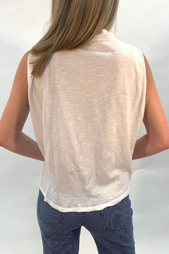Catwalk White Buttoned Top - Alternate List Image