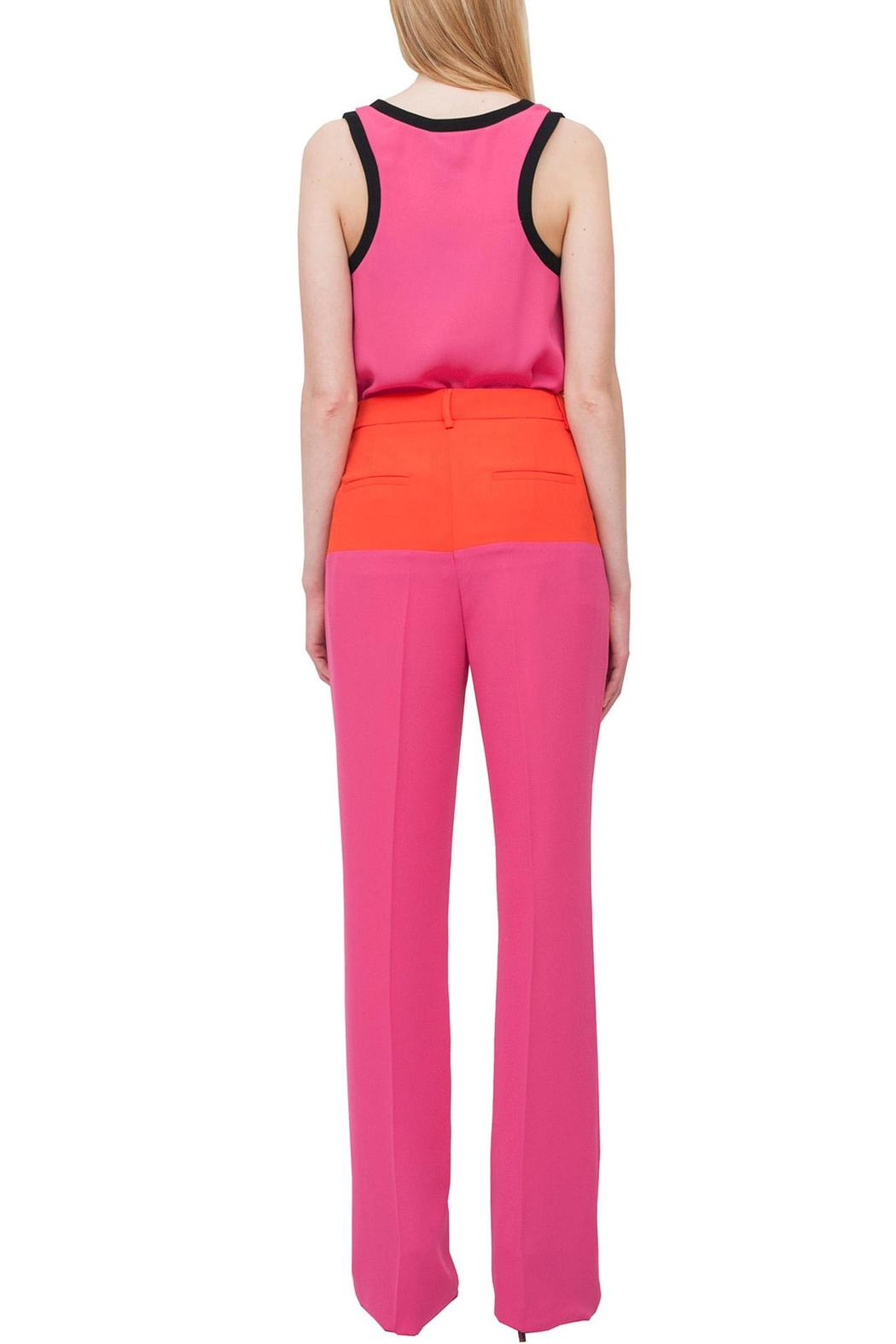 Cavalli Class Pink Stylish Trousers - Side Cropped Image