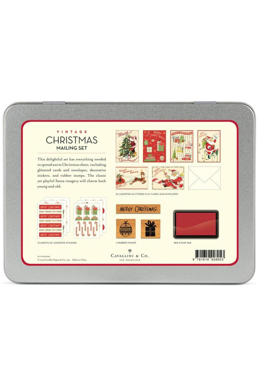 cavallini co christmas mailing set from boulder by elizabeth s