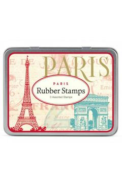 Cavallini & Co Paris Stamp Set - Product List Image