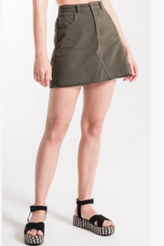 Thred Caviar Skirt - Front cropped