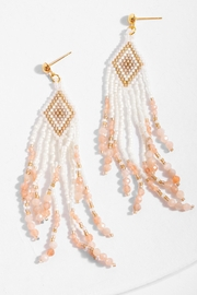 Saachi Cavo Beaded Chandelier Drop Earring - Front cropped