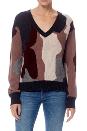 Skull Cashmere Cayenne Camo Sweater - Product Mini Image