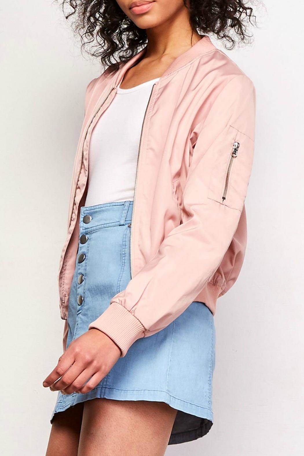 BB Dakota Cayleigh Bomber Jacket - Front Full Image
