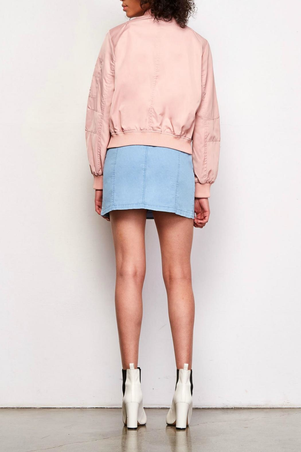 BB Dakota Cayleigh Bomber Jacket - Side Cropped Image