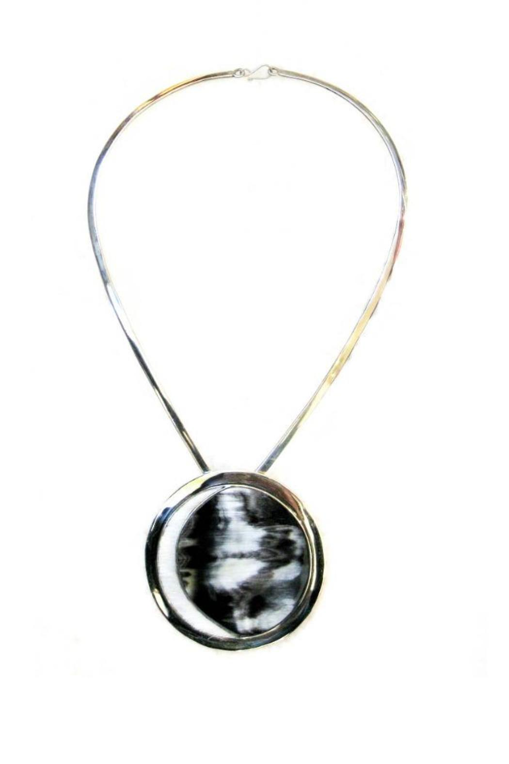 Diseño  Silver & Horn Necklaces - Front Cropped Image
