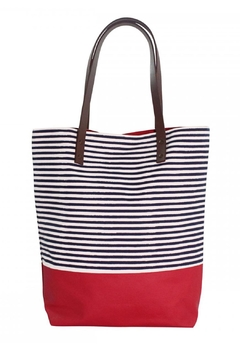 CB Station Red Seaport Tote - Product List Image