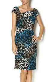 Frank Lyman Multicolor Leopard dress - Product Mini Image