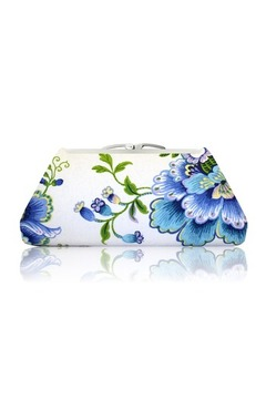 Victoria Khoss Blue Spring Clutch - Product List Image