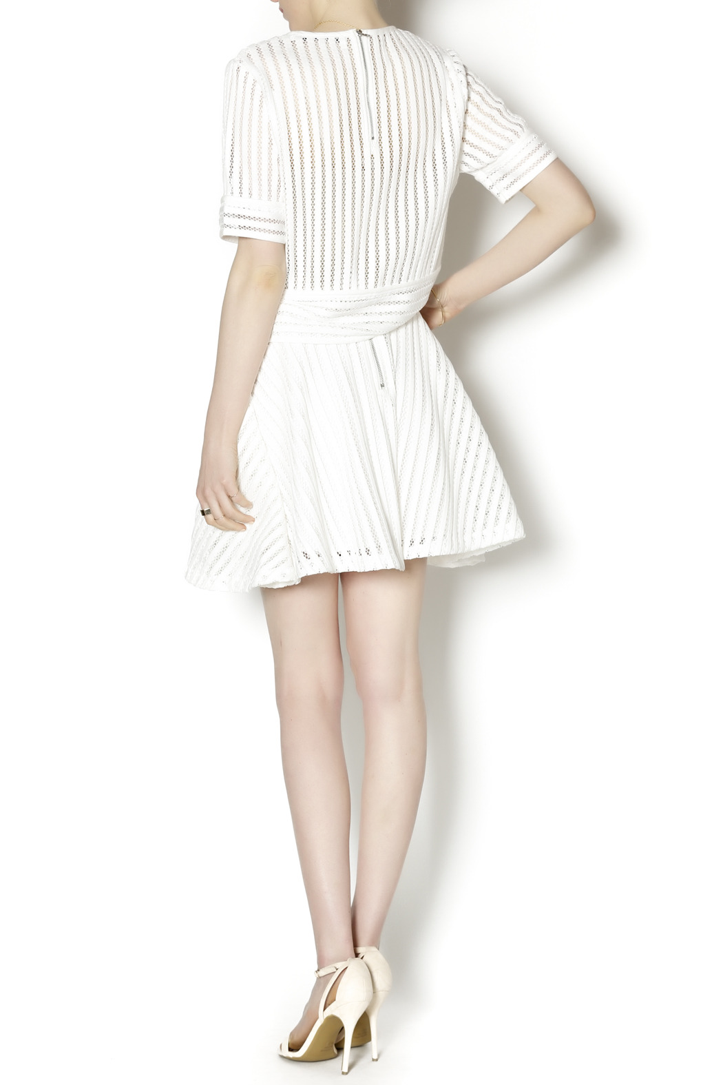 English Factory White Knit Two Piece - Side Cropped Image