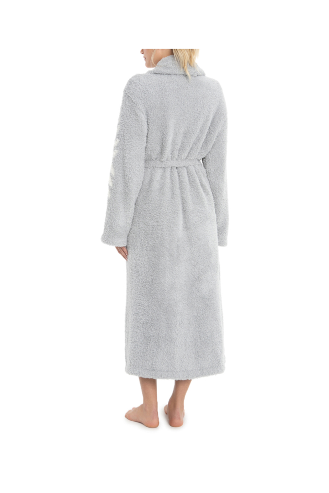 Barefoot Dreams CC INSPIRATION ROBE-OCEAN(BELIEVE IN DREAMS) - Front Full Image