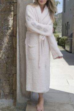 Barefoot Dreams CC INSPIRATION ROBE-PINK(LIVE IN LOVE) - Product List Image