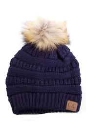 C.C. Navy Beanie - Product Mini Image