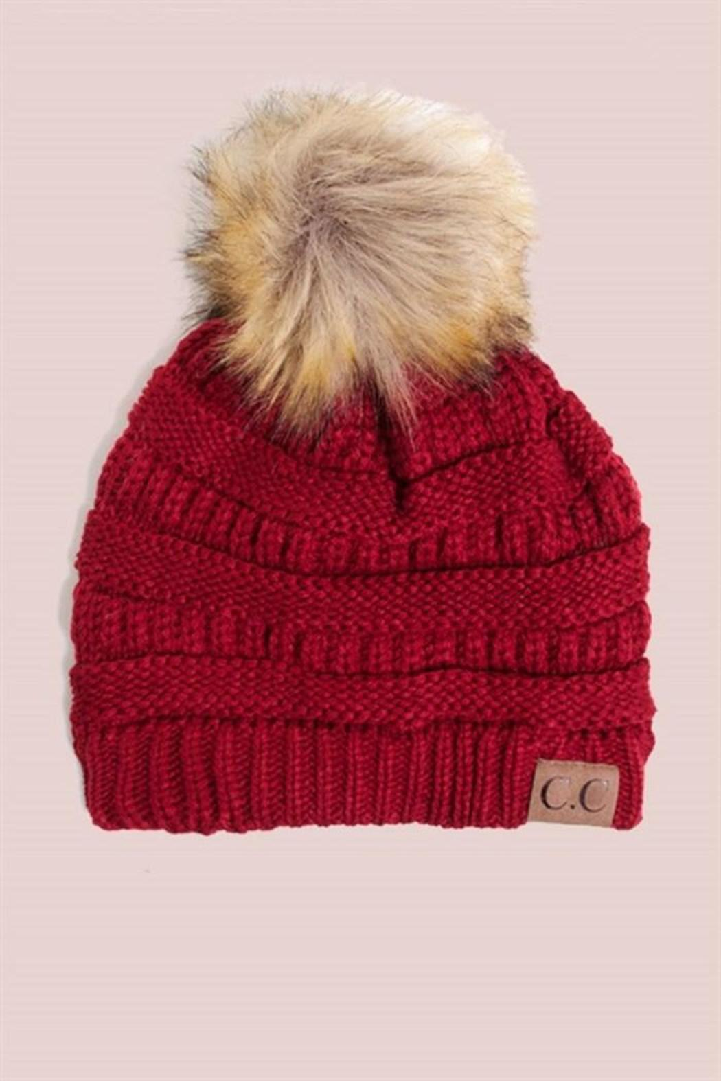 e3c01eefd2135 C.C. Red Beanie from Minneapolis by StyleTrolley — Shoptiques