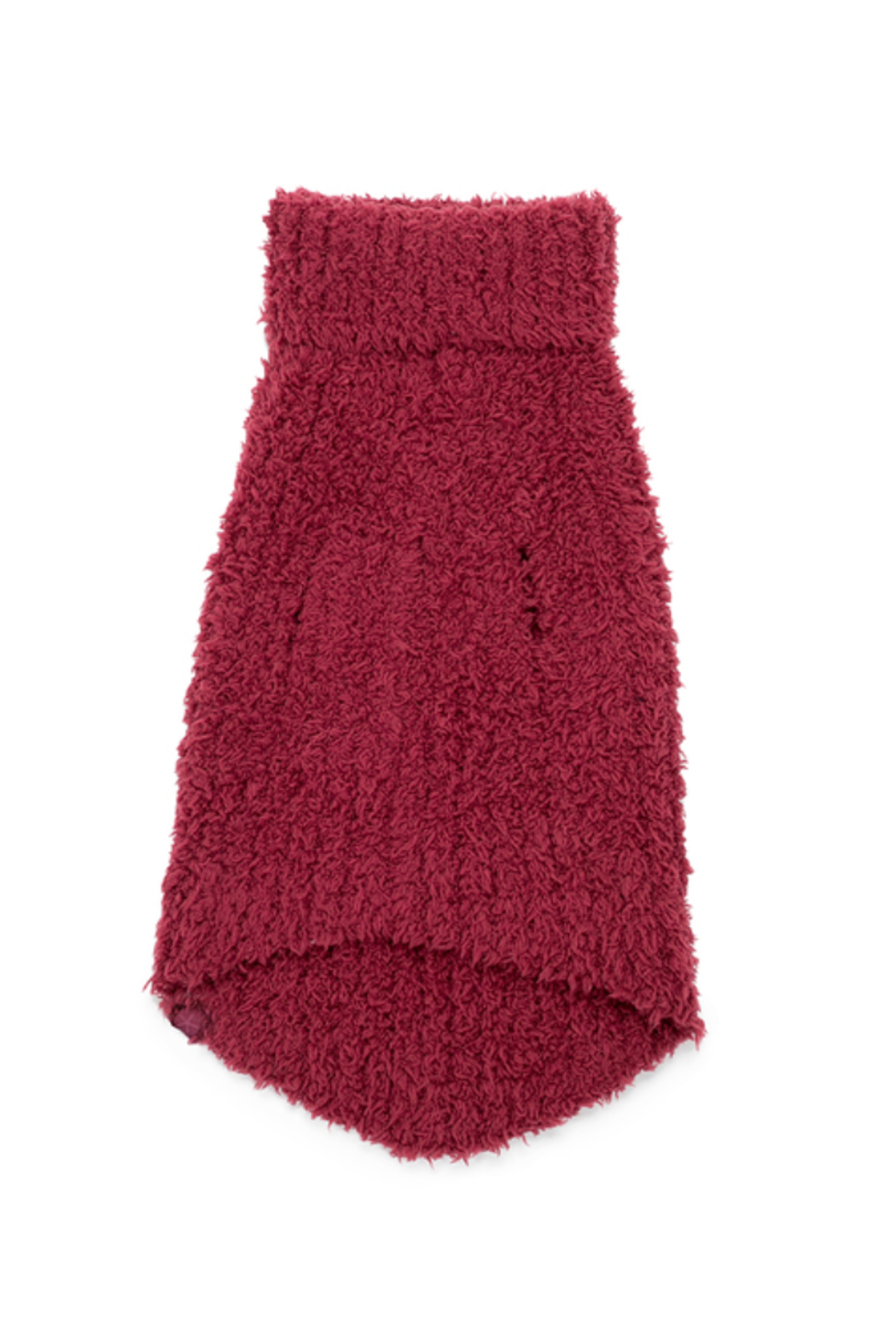 Barefoot Dreams CC RIBBED PET SWEATER - Front Full Image