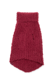 Barefoot Dreams CC RIBBED PET SWEATER - Front full body
