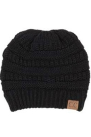 CC Beanie Black Beanie - Product Mini Image