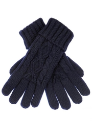 CC Beanie Cable Knit Gloves - Product Mini Image