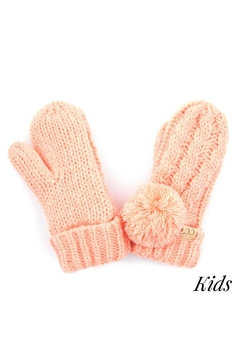 Shoptiques Product: Lined Pom Mitten