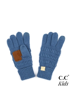 Shoptiques Product: Ribbed Knit Gloves