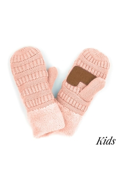Shoptiques Product: Sherpa Lined Mitten