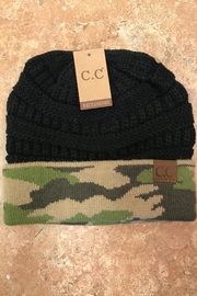 CC SKYE Camo Hat - Front cropped