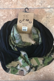 CC SKYE Camo Scarf - Front cropped