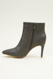 Ccocci - Collett - Black Bootie with Heel - Front full body