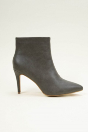 Ccocci - Collett - Black Bootie with Heel - Front cropped