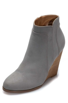 Ccocci Grey Wedge Bootie - Product List Image