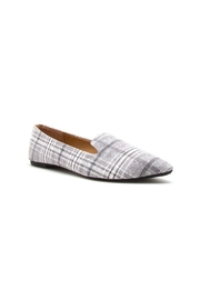 Ccocci Plaid Pointed Loafers - Product Mini Image