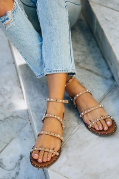 Ccocci Venus Studded Strappy Sandals - Product List Image