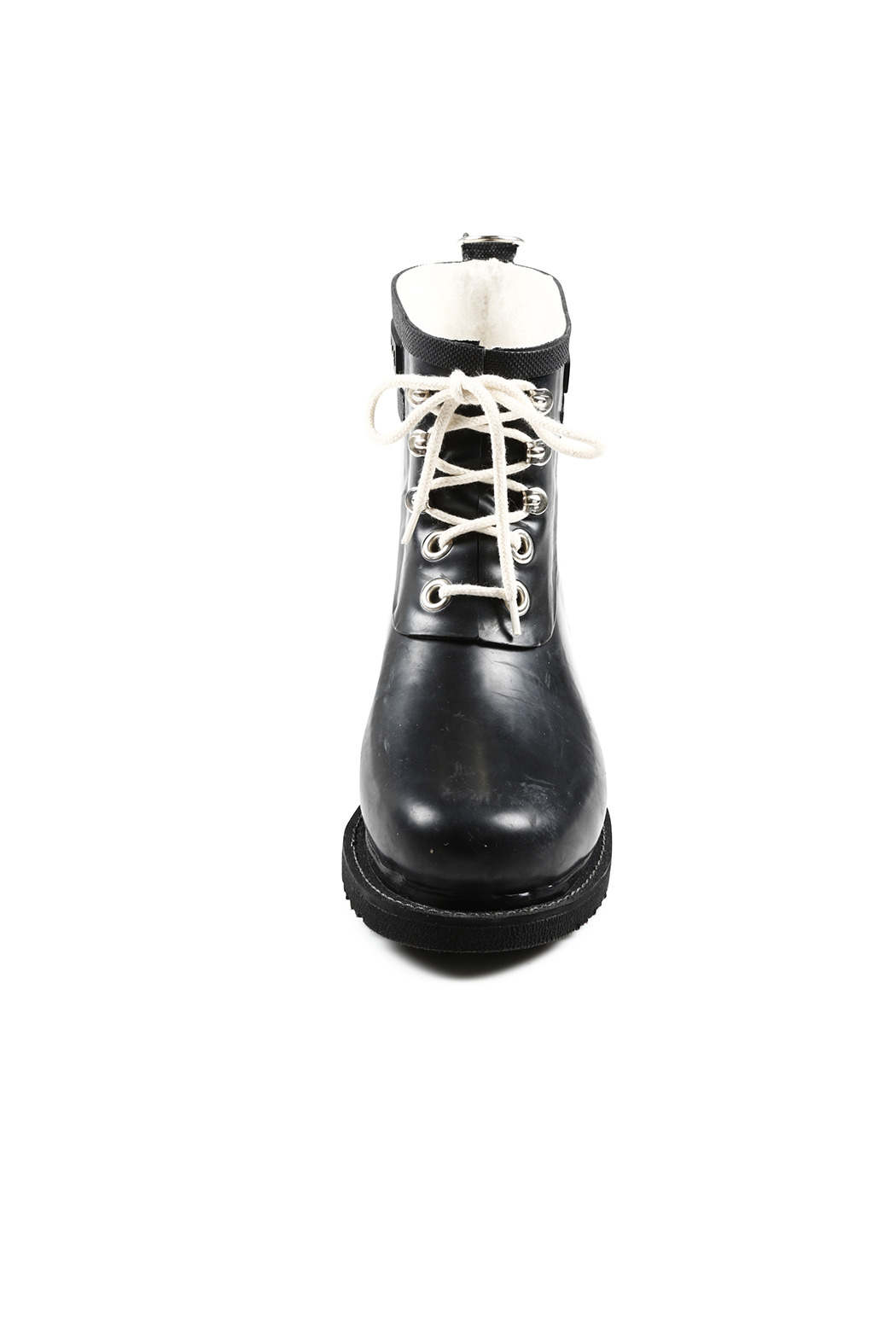 Ilse Jacobsen Short Lace Up Rain Boots from Midtown West by Ame ...