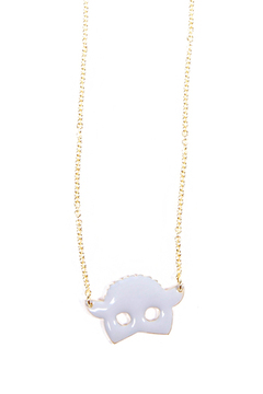 f_licie aussi Enamel Sheep Necklace - Alternate List Image
